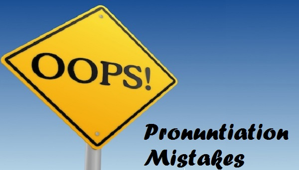 Pronuntiation Mistakes